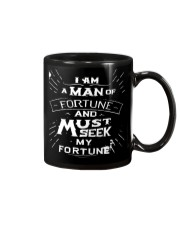 I Am A Man Of Fortune And I Must Seek My Fortune Mug tile