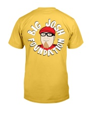 Big Josh Foundation Logo Campaign Classic T-Shirt back