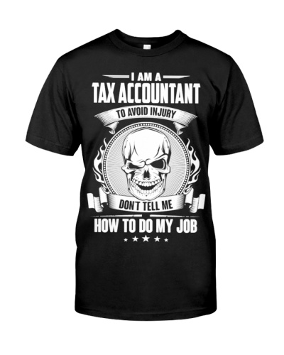 Tax accountant tees