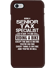 Senior Tax Specialist tees Phone Case thumbnail