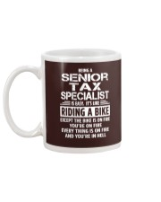 Senior Tax Specialist tees Mug back