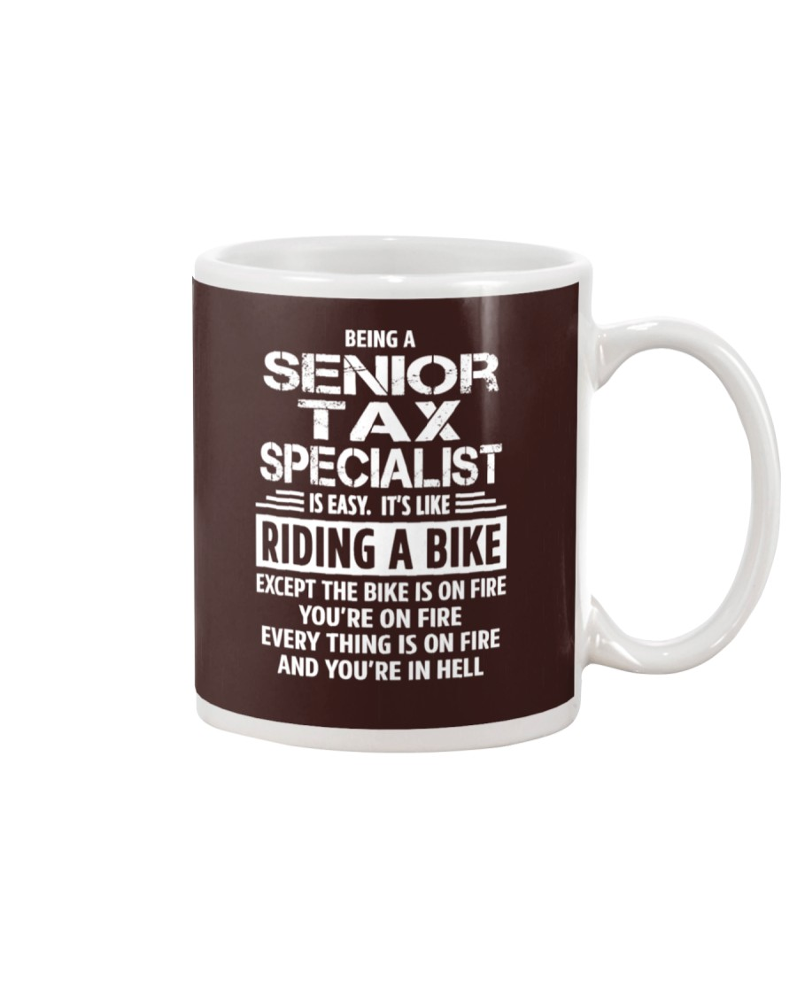 Senior Tax Specialist tees Mug
