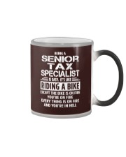 Senior Tax Specialist tees Color Changing Mug thumbnail