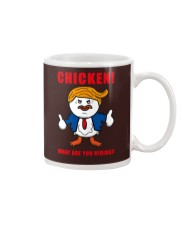 TAX MARCH CHICKEN tees Mug front