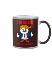 TAX MARCH CHICKEN tees Color Changing Mug thumbnail