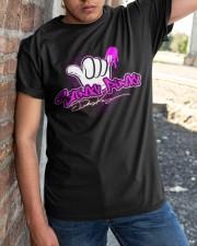 disco dean stinky pinky shirt Classic T-Shirt apparel-classic-tshirt-lifestyle-27