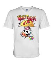 roast beef shirt V-Neck T-Shirt thumbnail