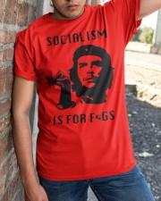 socialism is for figs shirt Classic T-Shirt apparel-classic-tshirt-lifestyle-27