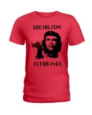 socialism is for figs shirt Ladies T-Shirt thumbnail