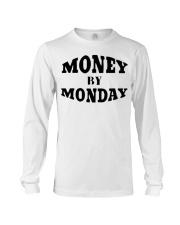 money by monday shirt Long Sleeve Tee thumbnail