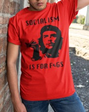 socialism is for figs shirt Classic T-Shirt apparel-classic-tshirt-lifestyle-27