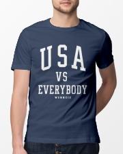 usa vs everybody shirt Classic T-Shirt lifestyle-mens-crewneck-front-13
