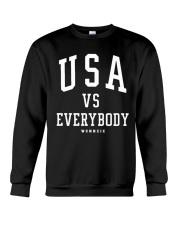 usa vs everybody shirt Crewneck Sweatshirt thumbnail