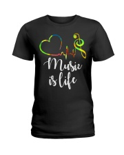 Music is life Ladies T-Shirt front