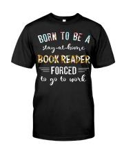 Book reader Classic T-Shirt thumbnail