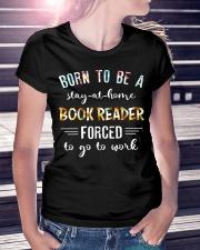 Book reader Ladies T-Shirt lifestyle-women-crewneck-front-7