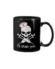 I'll stab you - Mug Mug front