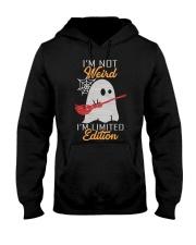 I'm not Weird Hooded Sweatshirt thumbnail