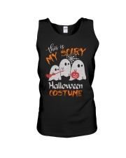 my scary halloween costume Unisex Tank thumbnail