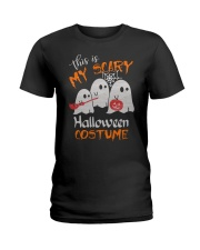 my scary halloween costume Ladies T-Shirt front
