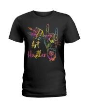 Art Hustler Ladies T-Shirt front