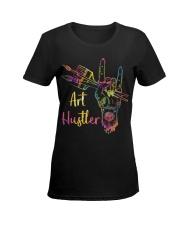 Art Hustler Ladies T-Shirt women-premium-crewneck-shirt-front