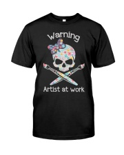 Artist at work Classic T-Shirt tile
