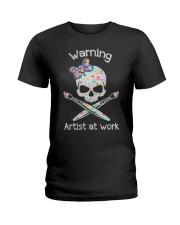 Artist at work Ladies T-Shirt front