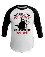My scary hairstylist costume Baseball Tee thumbnail