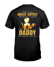 Great Artist Classic T-Shirt back