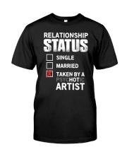 Hot Artist Classic T-Shirt front