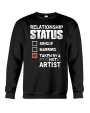 Hot Artist Crewneck Sweatshirt thumbnail
