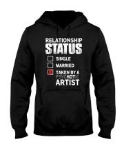 Hot Artist Hooded Sweatshirt thumbnail