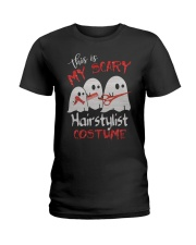 My scary Hairstylist costume Ladies T-Shirt front