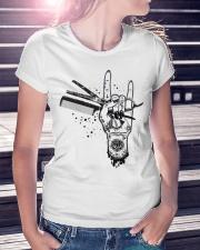 Hairstylist Ladies T-Shirt lifestyle-women-crewneck-front-7