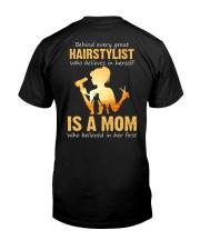 Hairstylist - Mom Classic T-Shirt back