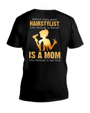 Hairstylist - Mom V-Neck T-Shirt thumbnail