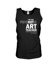 Hot Art Teacher Unisex Tank thumbnail