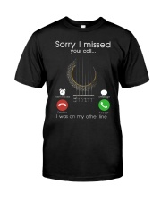 My guitar Classic T-Shirt front