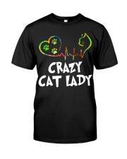 Cat Lady Classic T-Shirt thumbnail
