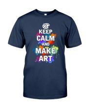 Keep calm and Make Art Classic T-Shirt tile