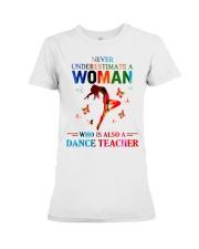 Dance teacher Premium Fit Ladies Tee thumbnail