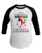 Dance teacher Baseball Tee thumbnail
