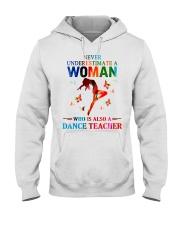 Dance teacher Hooded Sweatshirt thumbnail