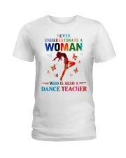 Dance teacher Ladies T-Shirt front