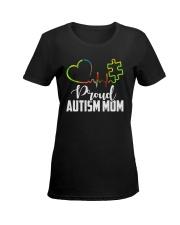 Autism Mom Ladies T-Shirt women-premium-crewneck-shirt-front