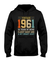 1961 - Being Classy Sassy And Smart Assy Hooded Sweatshirt thumbnail