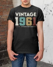 Vintage 1961 - 59 years awesome Classic T-Shirt apparel-classic-tshirt-lifestyle-31