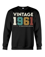 Vintage 1961 - 59 years awesome Crewneck Sweatshirt thumbnail