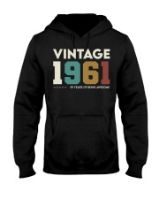 Vintage 1961 - 59 years awesome Hooded Sweatshirt thumbnail